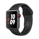 Apple Watch Series 3 Nike+ GPS Space Grau 42mm Anthrazit/Schwarz MQL42LL/A